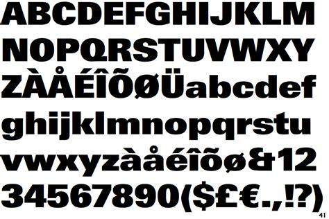 Online Design Tools identifont linotype univers extra black