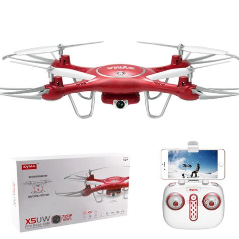 syma x5uw 720p wifi fpv with 2mp and altitude hold drone quadcopter multirotor and