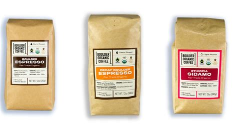 espresso coffee brands a coffee forward brand refresh for boulder organic coffee