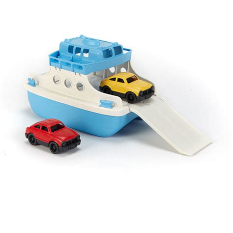 green toys ferry boat with mini cars stevensons toys - Ferry Boat With Mini Cars