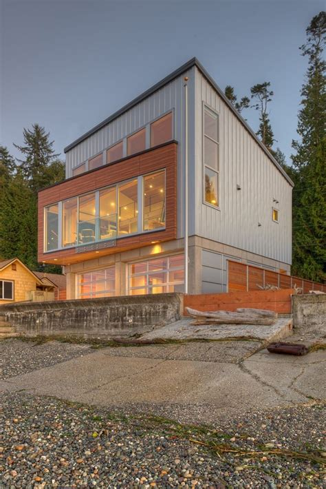 Northwest Home Design Plans Tsunami House By Designs Northwest Architect