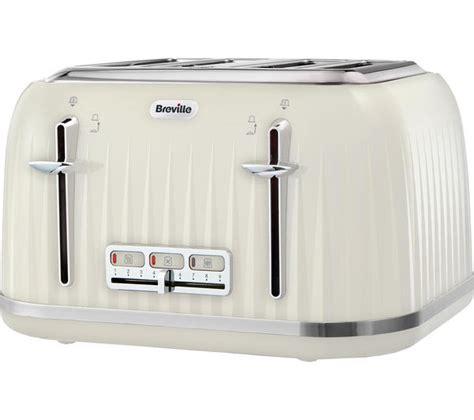 Pc World Toasters Vtt702 01 Breville Impressions Vtt702 4 Slice Toaster