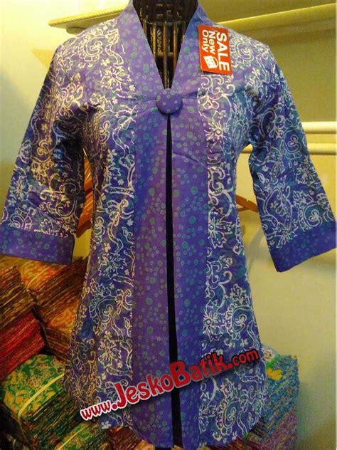 Blouse Batik Cap Encim Pastel blouse batik cap batik pekalongan b620 batik