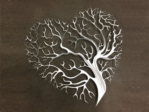 wall decor metal tree metal wall tree metal wall by inspiremetals