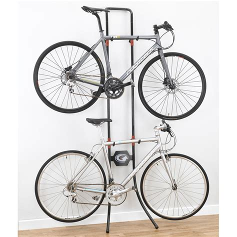 Gravity Bike Storage Rack by Lean Machine Gravity Bike Rack In Bike Stands
