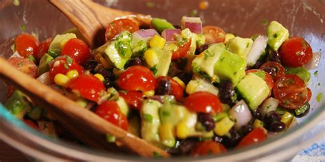 salad recipe guacamole salad recipe dishmaps