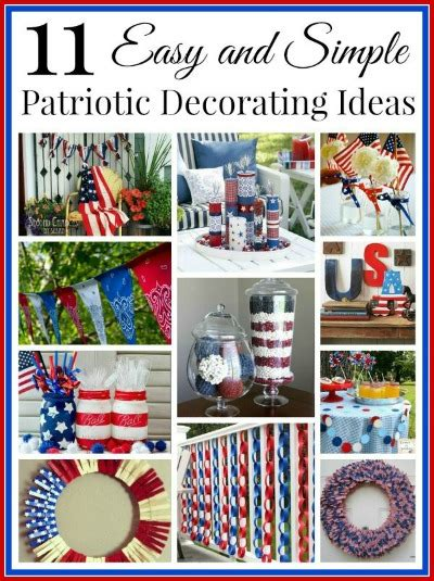 patriotic home decor ideas 15 creative patriotic diy home decor projects