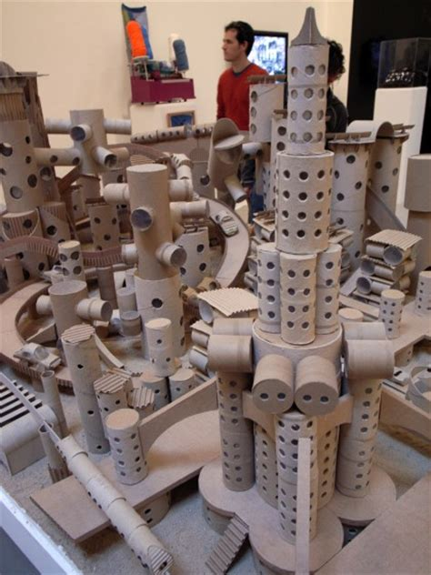 How To Make A City With Paper - cinema museum project paper city