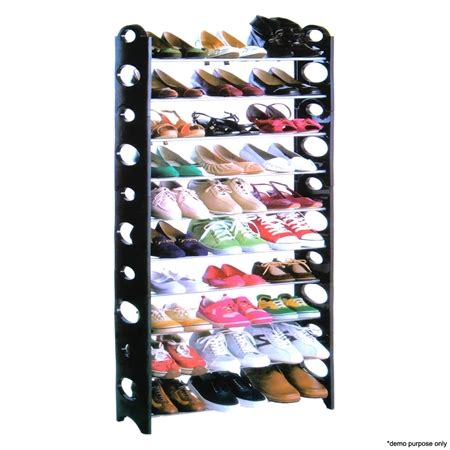 30 pair shoe cabinet 30 pair stackable shoe rack sales