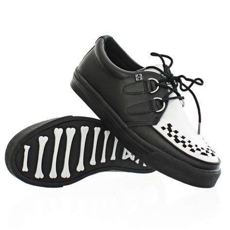 tuk shoes womens mens tuk shoes black and white leather sneaker