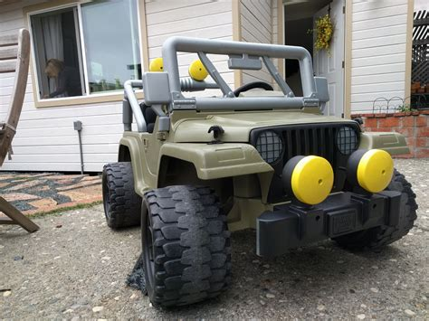 jeep power wheels for jeep power wheels restoration builds bond