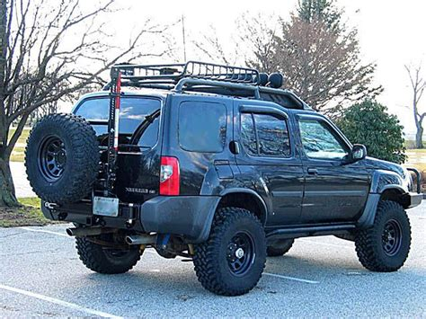 offroad front tire rack xterra rear bumper tire