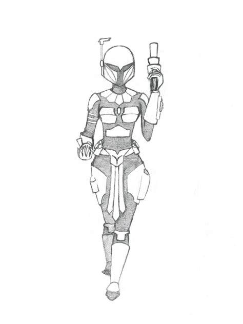 mandalorian armor sketch templates mandalorian coloring pages