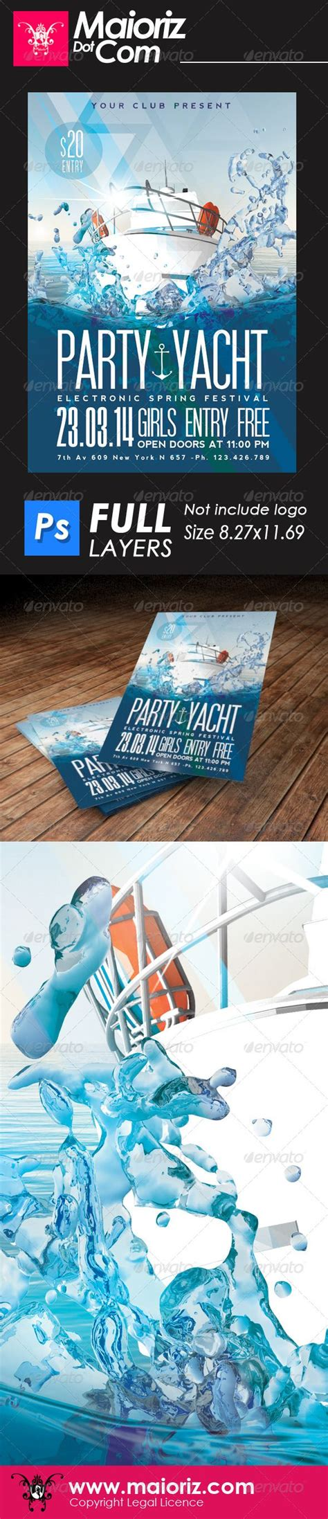 flyer design dubai yacht party flyer menorca dubai and cancun