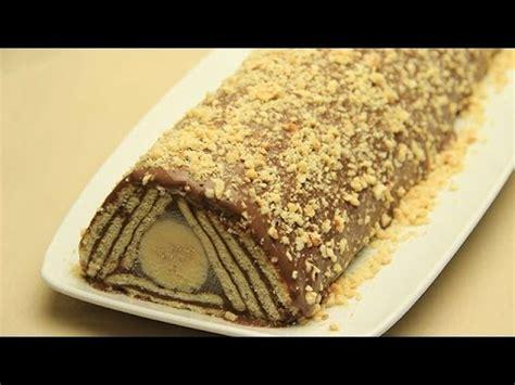 kalte kuchen kalter hund schokolade rezept keks torte kuchen ohne