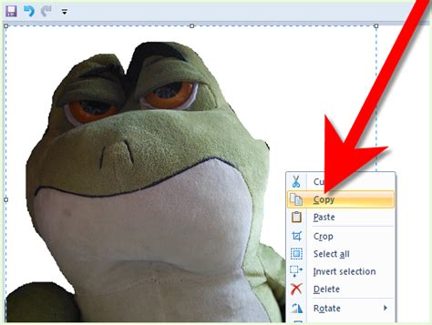 how to change the background of an image in ms paint 6 steps