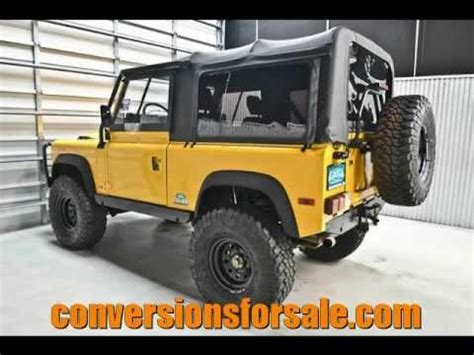 lifted land rover defender 1994 land rover defender 90 4x4 lifted youtube