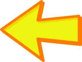 Image result for orange left arrow