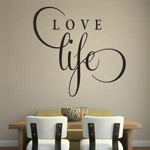 Motivational Wall Stickers Love Life Inspirational Wall Sticker Love Quote Design