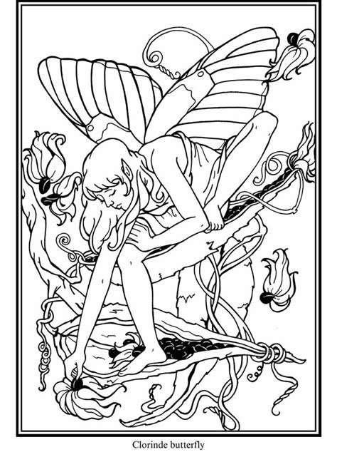 wood fairy coloring page art on wood 187 pyrography patterns