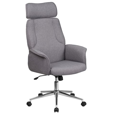 gray high  fabric chair ch cxh gy gg bizchaircom