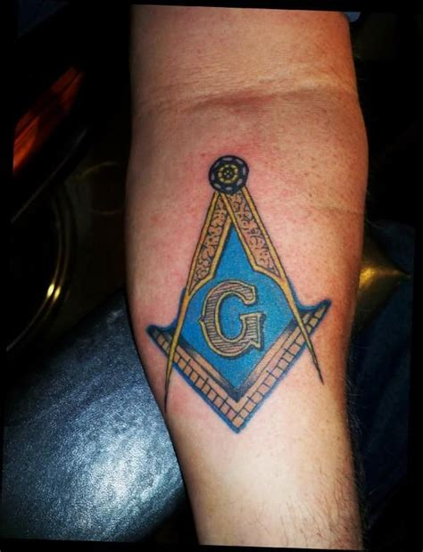 masonic tattoo designs masonic tattoos freemason the masonic symbol on a