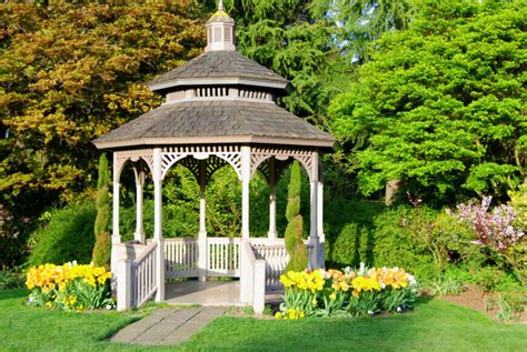 small garden gazebo 32 garden gazebos for creating your garden refuge