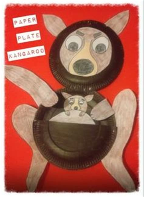 Kangaroo Paper Plate Craft - 1000 images about kangaroo crafts on kangaroo