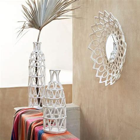 How To Make Paper Mache Wall - papier mache wall bowls west elm