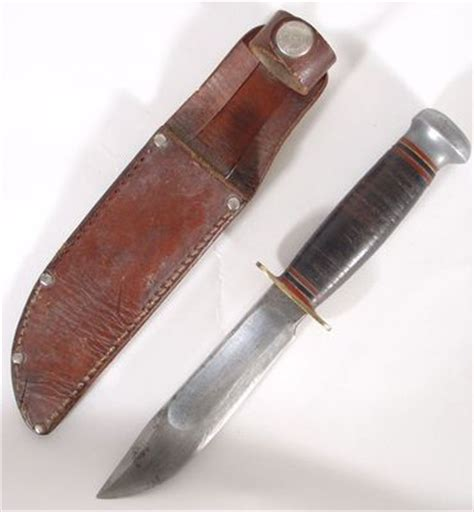 marbles knives history authentic marbles sheath knife gladstone mich usa leather
