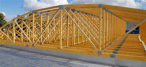 Hip Roof Shape Curved Roof Truss