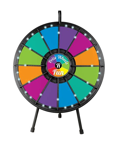 12 Slot Table Top Classic Prize Wheel With Lights Prize Wheels R Fun Prize Wheels Prize 12 Slot Prize Wheel Template