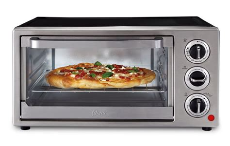 Pizza In A Toaster Oven oster tssttvf815 6 slice toaster oven kitchen dining