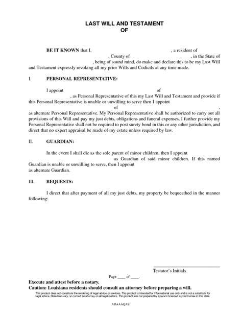 california last will and testament template simple will forms to print best agenda templates