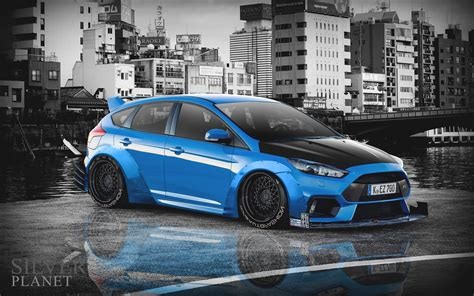 Tuned Focus Rs ford focus rs 2016 tuning by silvergamer on deviantart