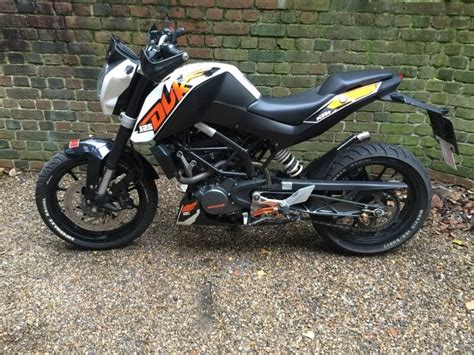 Ktm Duke 125 Ktm Duke 125 2013 Norfolk Motorbikes Scooters
