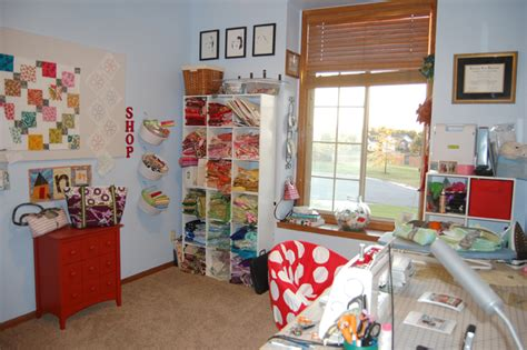 Quilting Room Designs by Fromthedoorway