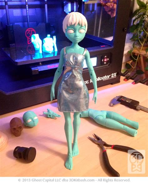 fashion doll 3d 3ders org quin fashion doll designed to be printed on