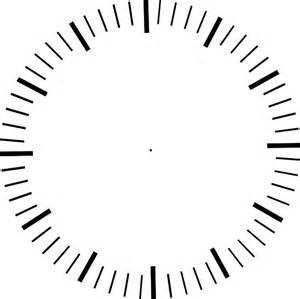 clock with minute ticks no hands clip art at clker com