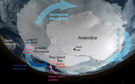 nasa unstable antarctica what s driving loss