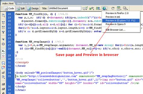 Dreamweaver Tutorial Javascript   how i learned javascript on accident 187 coding 187 russell