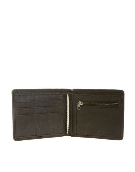 bench wallets bench wallet in black for men lyst