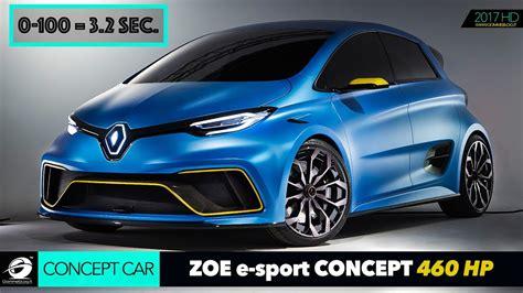 renault zoe engine renault zoe e sport concept 460 hp 2 engine 0