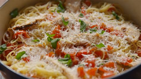 easy pasta recipes your life is now complete thanks to chicken bruschetta