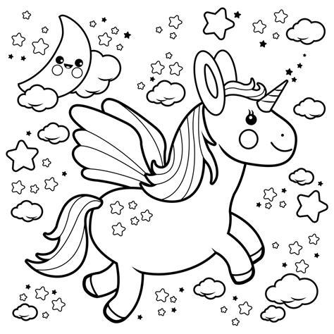 imagenes de unicornios bebes para colorear unicornios kawaii imagenes y dibujos de unicornio kawaii
