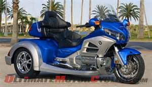 Trike Motorcycle Honda Roadsmith Releases Hts1800 Gold Wing Trike Conversion
