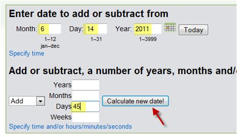 calculator number of days number of days calculator tool on timeanddate com