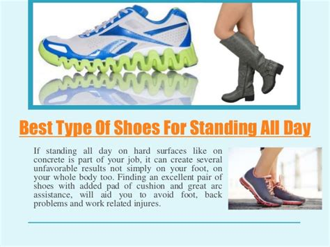best shoes for standing on your all day best type of shoes for standing all day