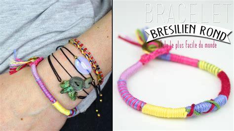 diy le diy le bracelet br 233 silien rond le tuto le plus simple