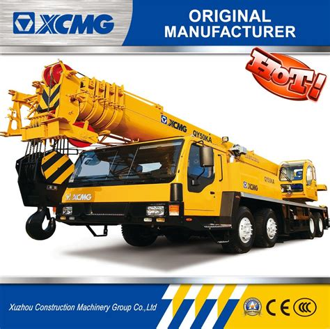 mobile crane for sale china xcmg factory 50 ton truck crane mobile crane for